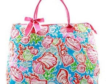 Personalized LadiesTote Bags, tote bag,weekender,overnight bag,overnight  bag, tote bag, quilted tote large tote, large tote bag, quilted
