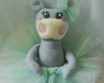 "Little Poppets ""Hippo"""