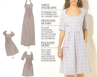 Simplicity 1800 - Misses' Amazing Fit Dress (10–18)
