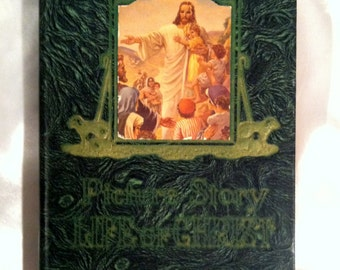 Vintage Picture-Story Life Of Christ, 1947 Edition