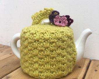 Beautiful Vintage Look Handmade Teapot Cosy