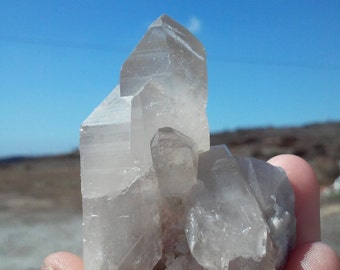 California Crystal Quartz Point Cluster- 64.2 grams