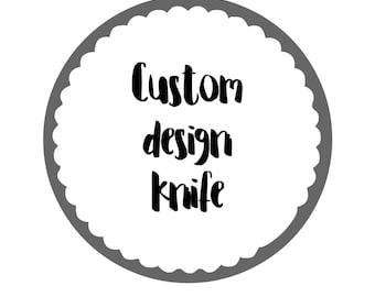 Bespoke Personalised Knife