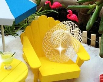 miniature beach hat, fairy garden hat, miniature sinamay hat, miniature garden hat, tiny hat, miniature sun hat, fairy garden sun hat