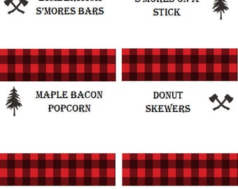 Lumberjack Food Labels