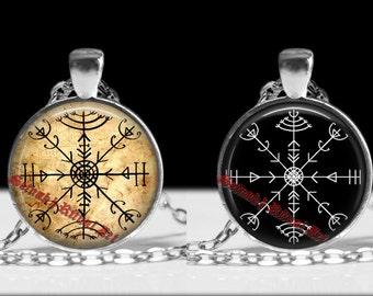 Veldismagn pendant, veldismagn necklace, icelandic stave, viking amulet, icelandic jewelry, pagan necklace magic pendant nordic jewelry #235