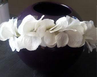 Hand-Braided Flower Crown