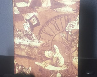 Alice in Wonderland Handcrafted Sketch Book