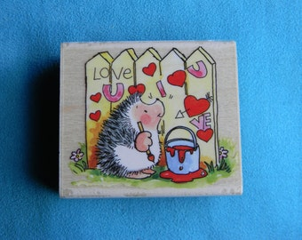 Penny Black - Love Graffiti - Rubber Stamp