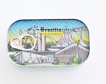 Canned Air From Brasília Souvenir