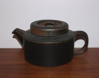 "Nice vintage retro 60s Teapot ""Ruska"" with infuser. Designed by Ulla Procopé for Arabia, Finland Scandinavian."