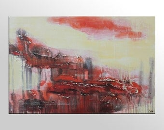 Large Abstract Painting, Canvas Wall Art, Acrylic Painting, Original Art, Abstract Art, Canvas Art, Canvas Painting, Large Abstract Painting
