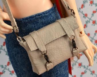 Ivory Messenger Bag for Minifee, MSD, Slim Mini BJD