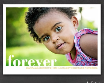 Adoption Announcement (Set of 50+) - Forever