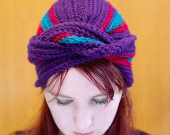 Vintage Inspired Turban Headwrap Hat