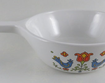 Corning Ware 1 Pint Menu-ette Country Festival P-81-B Saucepan