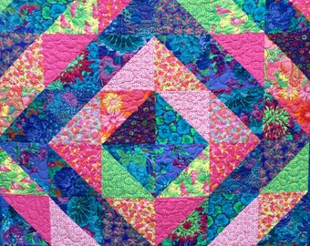 Tropical Caribbean Quilt