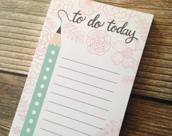 To Do Notepad - 3x8 inches - 40 sheets - Vertical