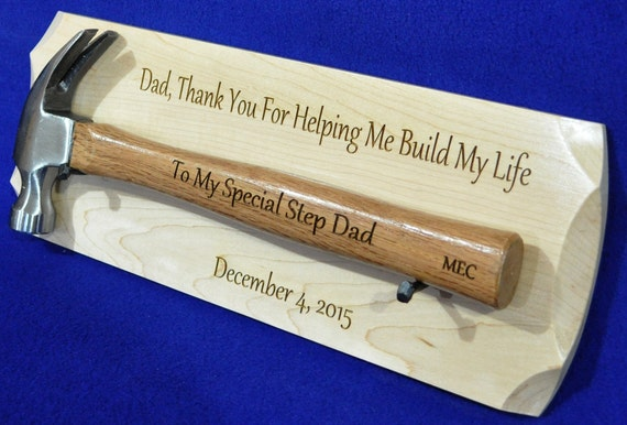 Wedding Gift For Step Dad : Step Father Gift ~ Wedding Gift For Step Dad ~ Gift To Dad ~ Engraved ...