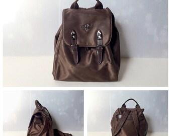 PIERO GUIDI - SALE -40% 90s Piero Guidi Fabric Backpack