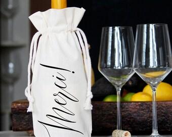 Merci! | Wine Bag | Gift Bag | Wine Gift