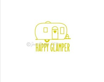 Decal Happy Glamper Pictures To Pin On Pinterest