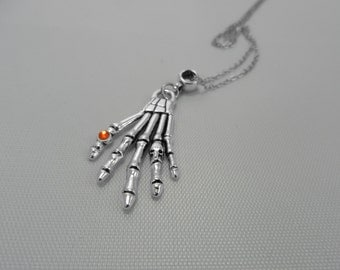 Skeleton Hand Layering Necklace | cayfiore