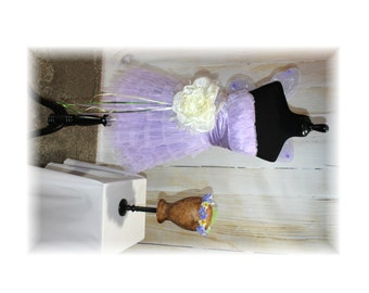 Lavender Flower Fairy Costume / Nymph Costume / Pixie / Sprite-X-Small-Small (D30)
