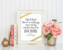 Digital Print - Love People, Vincent Van Gogh Digital Print - Printable Digital Prints - Wall Decor