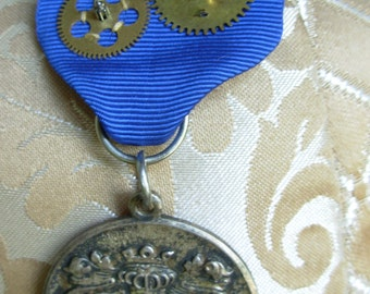 Steampunk Medal. The German town of Eberbach has honored you!
