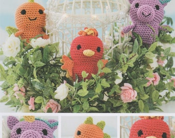 DMC 15318L/2 Mythical Creatures Amigurumi Crochet Pattern