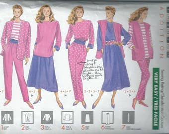 Vintage Sewing Pattern - Butterick #4225, Size XS-S-M