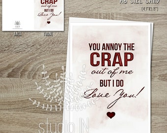 love card funny valentines card valentine card for him love cards