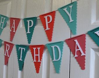 Happy Birthday Banner, Happy 1st Birthday Banner
