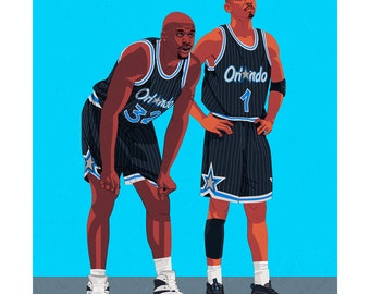 Shaquille O'Neal & Penny Hardaway