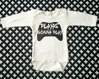 Funny baby shirt, baby bodysuit, video game baby shirt, trendy baby clothes, fall baby clothes, unisex baby bodysuit, baby gift, nerdy baby