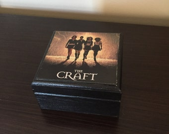 The Craft Movie Keepsake Box, Jewelry Box, Witches