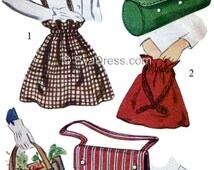 1945 Set of Six Bags Pattern by EvaDress