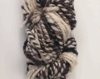 Handspun 100% Wool Yarn (Natural)