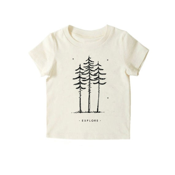 Hipster Kids Clothes Nature Explore Shirt Organic Baby - photo#29