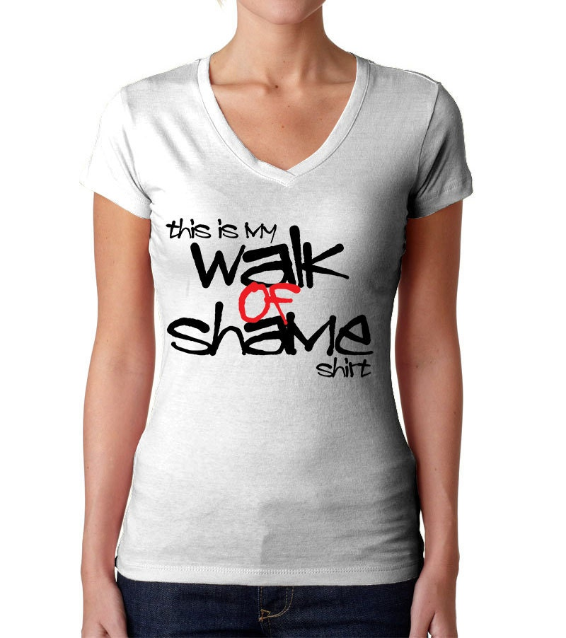 Walk Of Shame Shirt Expression Tees Trending Clothing One
