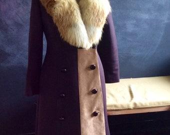 Vintage Fur Coat Made in Paris Exquisite