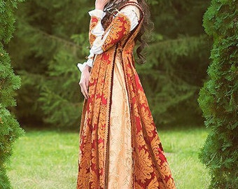 Italian Renaissance Costume made to order from another fabric