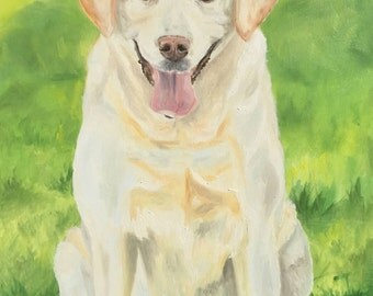 Custom Pet Portrait- 16 x 20