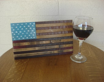 Wine Barrel Flag