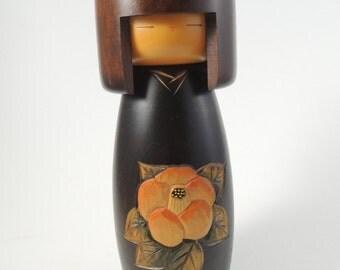 Vintage kokeshi doll, refC