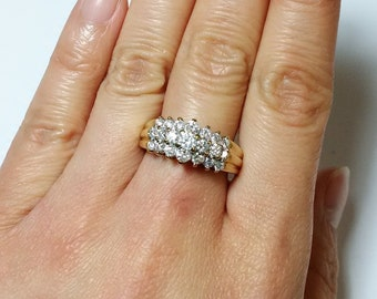 Vintage 10K Gold Diamond Ring *ON SALE for a limited time*