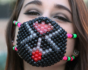 Kitty Cat LED Kandi Mask