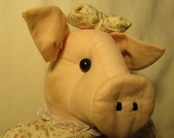 Vintage Pig Doll