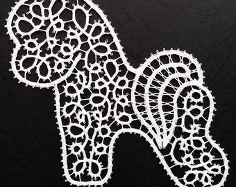 Bichon Frise Lace